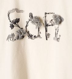"Image 5 of ""Soft"" appliqué T-shirt from Zara"