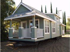 29 awesome cottage style mobile homes images park model homes rh pinterest com