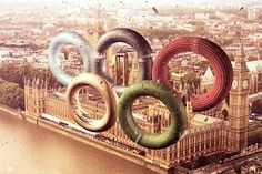 Olympic Games 2012 by Leonardo Dentico, via Behance