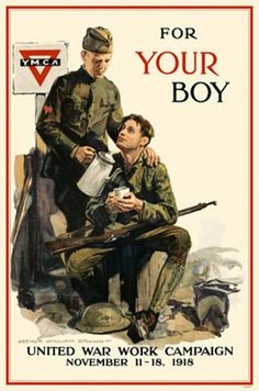 WW1 YMCA poster