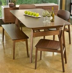 """Currant Dining Table 60"""" by Greenington Bamboo - Dining Chairs and Dining Room Furniture at www.Accurato.us"""