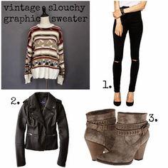miskabelle vintage How to Wear: Vintage Sweaters