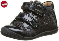Noël Baby Mädchen Mini Babe Lauflernschuhe, Schwarz-Noir (100 Noir), 19 EU - Kinder sneaker und lauflernschuhe (*Partner-Link)