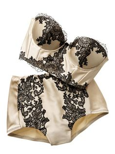 Carine Gilson Lingerie Couture. This is the image I have when people joke about putting on their big girl panties.