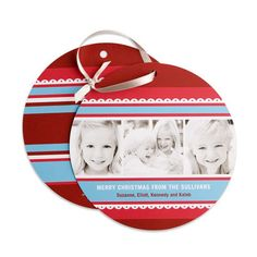 love this!  Ornament Cards.  picture by kidswallcreations - Photobucket