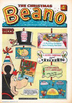 The Beano Christmas 1969