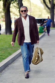 Mature Mens Fashion, Old Man Fashion, Men's Fashion, Fashion Outfits, Fashion Design, Blazer Suit, Suit Jacket, Style Masculin, Mens Clothing Styles