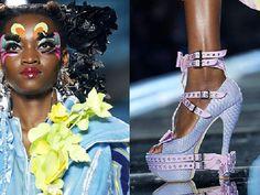Oluchi @ Christian Dior Fall 2003