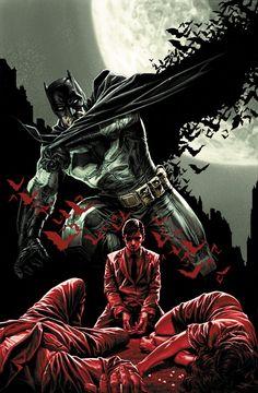 Batman - Secret Origins covers by Lee Bermejo