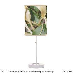 OLD FLORIDA HONEYSUCKLE Table Lamp