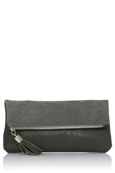 Buy Grey Foldover Clutch Bag from the Next UK online shop
