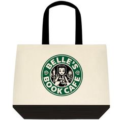 Starbucks Disney Inspired Belle Beauty and the Beast Tote Bag Purse Grocery Shop #Unbranded #ToteBag