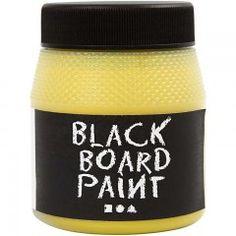 Tavlemaling, sort, 250 ml Blackboard Paint, Chalk Paint, Chalkboard, Isle Of Man, Tshirt Garn, Art And Craft Materials, Art And Hobby, Painted Boards, Blackboards