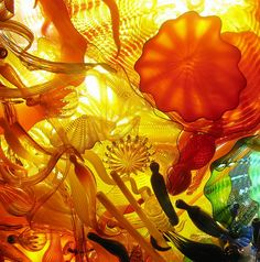 Chihuly glass art.