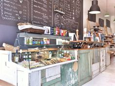 Bio Bodega is a cozy Organic Shop with Cafe/Lunchroom area - Bio Bodega offers a wide variety of products: breads, groceries, wines, sweets, cheeses and sandwiches - Bio Bodega is located in the street right behind Rotterdam Central Station