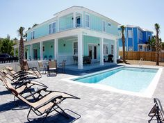 **aug 8-15 Just Opened Up!**. Brand New, 3 Minute Walk To Beach, Private Pool - VacationRentals.com