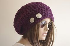 https://www.etsy.com/listing/118767212/purple-woman-hat-chunky-knit-slouchy