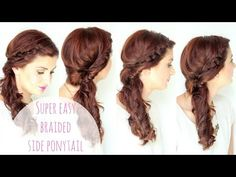 Twisted Side Braid tutorial - Ma Nouvelle Mode
