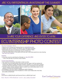 Summer Internship Photo Contest - You Can Win a $100 gift card by sharing your internship experience!