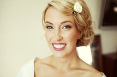 A classic, clean bridal look Photography by Alysse Gafkjen / alyssegafkjen.com