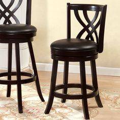 Lovely Bar Stool Cushions Square with Ties