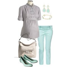 Casual Friday Maternity Fashion All mommies to be must visit: http://www.upscale-mom.com