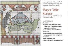 Gallery.ru / Фото #4 - Teapot Table Runner - Mila65