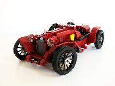 ~ Lego MOCs City ~ Alfa Romeo 8C 2600 Monza (1933 spec)-Scuderia Ferrari by bobalexander!