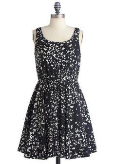 Flight Up the Night Dress | Mod Retro Vintage Dresses | ModCloth.com