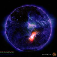 SUNSPOT ERUPTS, HURLS CME TOWARD EARTH: After several days of pent-up quiet, big sunspot AR2473 erupted on Dec. 28th (12:49 UT), producing a slow but powerful M1.9-class solar flare. NASA's Solar Dynamics Observatory recorded the blast's extreme ultraviolet glow.