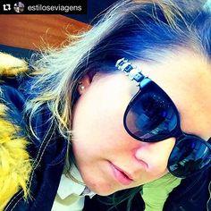 @estiloseviagens garantiu seu novo Chanel das Óticas Wanny. Venha buscar o seu também: www.oticaswanny.com