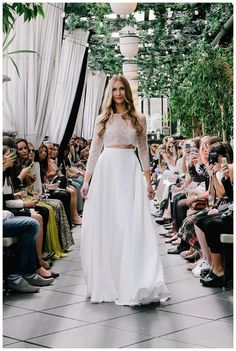 Wedding dress from the Sarah Seven Spring 2016 Bridal Collection.