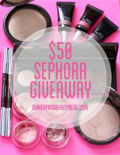 Win a $50 Sephora e-gift card this weekend from Makeup and Beauty Blog, babe! Full details to enter are on the blog. Giveaway closes at 11:59 p.m. on Monday, November 17, 2014. Good luck!