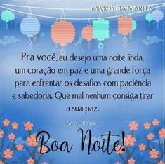 Boa noite Diy And Crafts, Cards, Dachshund, Night, Photos Of Good Night, Images For Good Night, Vows, Ser Feliz, Pretty Quotes