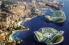 idée écologie urbaine n mer de Monaco