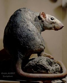 Rat Sculpture by Erick Aubry