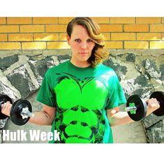 Week 2 - Hulk Week. #Avengerintraining