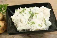 Tormás krumplisaláta Creme Brulee, Potato Salad, Mashed Potatoes, Bacon, Grains, Salads, Rice, Ethnic Recipes, Food