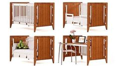 The GRO Furniture Modular Crib Grows With Your Little One #kids trendhunter.com