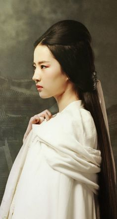 More Asian Photography, Ancient Beauty, Portraits, Super Long Hair, Chinese Actress, Hanfu, Beautiful Asian Women, Traditional Outfits, Asian Woman