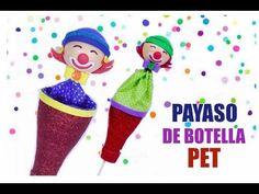(51) Juguete de Payaso de Botella de PET - YouTube New Class, Crochet Blanket Patterns, Things To Do, Crochet Hats, Diy, Make It Yourself, Christmas Ornaments, Pets, Holiday Decor