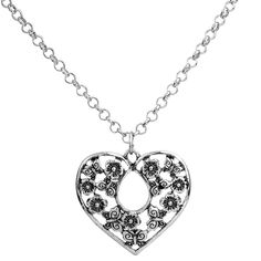 "Our new ""Butterflies in a Heart"" necklace! Simply beautiful!  www.jewelrysubscription.com"