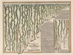 David Rumsey scanned and uploaded 11,502 maps and cartographic artifacts from his magnificent collection in 2013. They included this comparative view of the world's rivers originally published in London in 1817 (see a zoomable version on Rumsey's website).