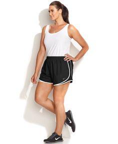 Nike Plus Size Shorts, Dri-FIT Tempo Track - Women - Macy's