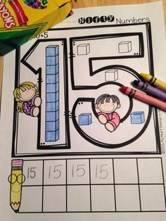 Do your students need more practice developing number sense? This set of printables will help them build number recognition skills, practice number writing, and learn basic place value. Number Sense Activities, Math Activities, Math Games, 2 Kind, Math School, Early Math, Homeschool Math, Homeschooling, Math Numbers