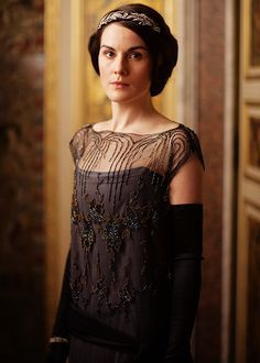 Downton Abbey Fashion: Lady Mary, S4 E1