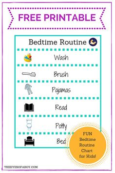 Looking for a Printable Bedtime Charts For Toddlers. We have Printable Bedtime Charts For Toddlers and the other about Printable Chart it free. Bedtime Routine Printable, Bedtime Chart, Bedtime Routine Chart, Daily Routine Chart, Bedtime Routines, Daily Routines, School Routines, Toddler Routine Chart, Toddler Reward Chart