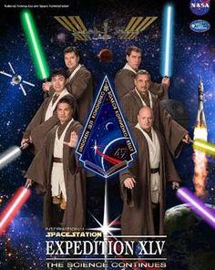 El Universal - Ciencia - NASA transforma a sus astronautas en Jedis