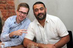 Filmteractive Market jury members: Martin Simka (Evio Polska) and Adipat Virdi (Transmediasphere UK)