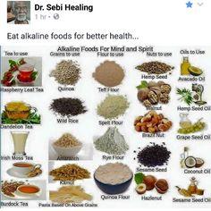 Dr sebi clean foods
